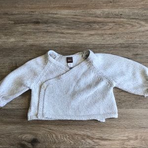 TEA COLLECTION Gray Crop Sweater
